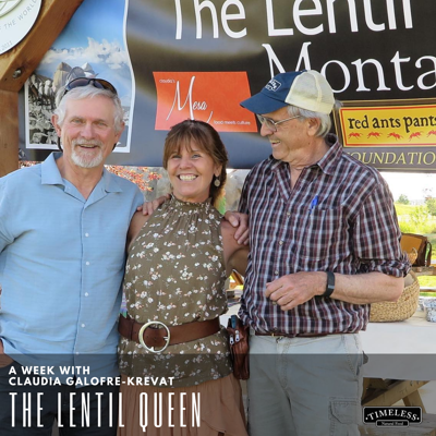 lentil queen Dave and Jim